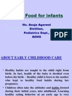 Weankkkking Foods for Infants Ppt