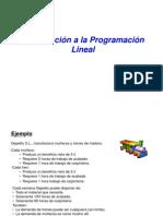 Program Ac i on Lineal