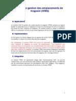 SAP-Systeme de Gestion Des Emplacements de Magasin