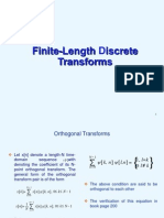 Finite-Length Discrete Transforms