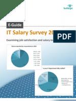 IT Salary Survey E-Guide