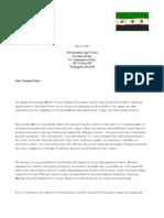 Letter ToKerry Geneva 1