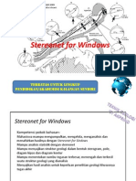 Stereonet for Windows