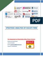 Strategic Case Analysis