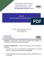 Aula 01 - SED -Caracterização de Carga