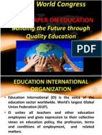 Current Trends on Issues Andpoilicies on Education