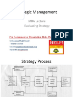 Strategic Management Lecture 7