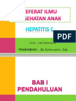 Ppt Referat Hepatitis c