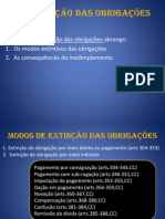 Acad 7 Da Extincao Das Obrigacoes