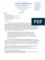 Issa Letter to IRS Re Questionnaires