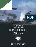 Naval Institute Press Spring 2013 Catalog