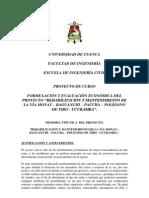 Formulacion y Evaluacion de Proyectos Grupo 6b