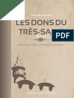 LES DONS DU TRÉS-SAINT(1)