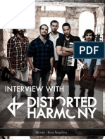 Interview with Distorted Harmony