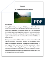 Synopsis of Environment and Ecology of Shillong