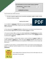 CORREÇÃO 3ª FASE 2º CICLO e 7ºano 2012.13