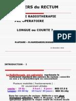 Cancers Du Rectum Rt Affiane