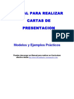 Manual Para Realizar Cartas de Presentacion