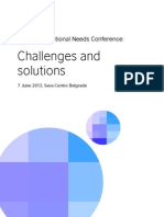 Conference Programme - Challenges and Solutions