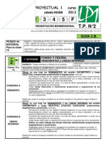 LP1 GUÍA TP2 B 2013 clase 15-16