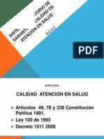 SISTEMA OBLIGATORIO DE GARANTIA DE CALIDAD DE ATENCIÓN