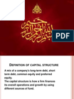 The Determinants of Capital Structure Choice