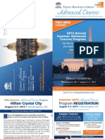 Patent Resources Group (PRG) 2013 Summer Advanced Courses Mailing