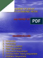 Measurement of Gas by Multipath Ultrasonic Meter