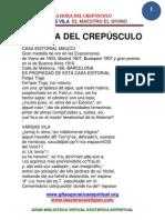 32 37 LA HORA DEL CREPUSCULO VARGAS VILA Www.gftaognosticaespiritual.org