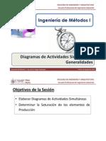 M3.11 IM I - USMP - Estudio de Métodos - Diagrama de Actividades Simultáneas