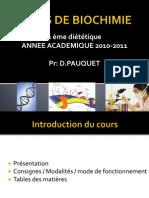 Biochimie 2 Eme Diet Intro Pauquet