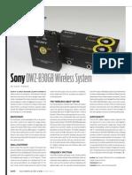 Sony DWZ-B30GB Wireless System