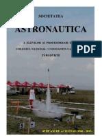 Societatea Astronautica Tirgoviste - 45 de Ani