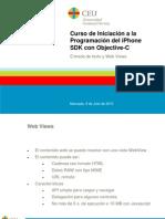 Curso de Iniciación a la Programación del iPhone SDK con Objective-C. 7 - Texto y WebViews