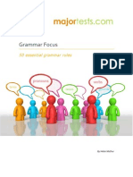 Grammar Focus - 50 Essential Grammar Rules