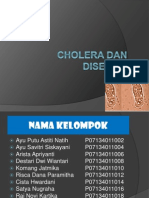 Cholera Dan Disentri