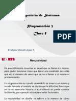 UAM - Progra 3 - Clase 5