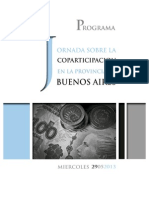 Programa Coparticipación en la PBA