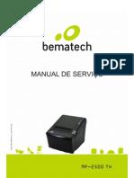 Manual MP2500 TH