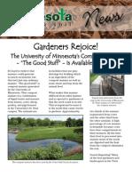 13-newsletter - gardeners rejoice