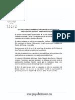 ESTAS ELECCIONES SE VAN A DISTINGUIR POR SU ALTO NIVEL DE PARTICIPACIÓN- SALOMÓN JUAN MARCOS VILLARREAL