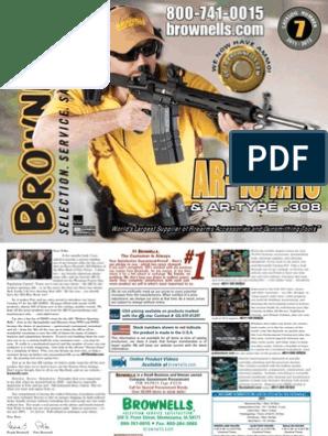 Brownells AR15   Telescopic Sight   Firearms