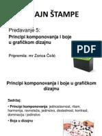 Dizajn Stampe, Predavanje 5b, 2013