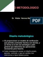 EL DISEÑO METODOLOGICO 9
