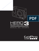 GoPro Hero3 Black Edition Manual Spanish