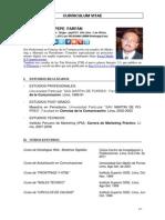 Curriculum Pepe Farfan
