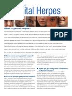 Herpes Fact Sheet