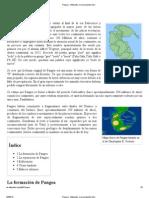 Pangea - Wikipedia, La Enciclopedia Libre
