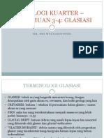 GEOLOGI KUARTER – PERTEMUAN 3-4