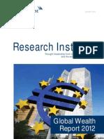 2012 Global Wealth Report